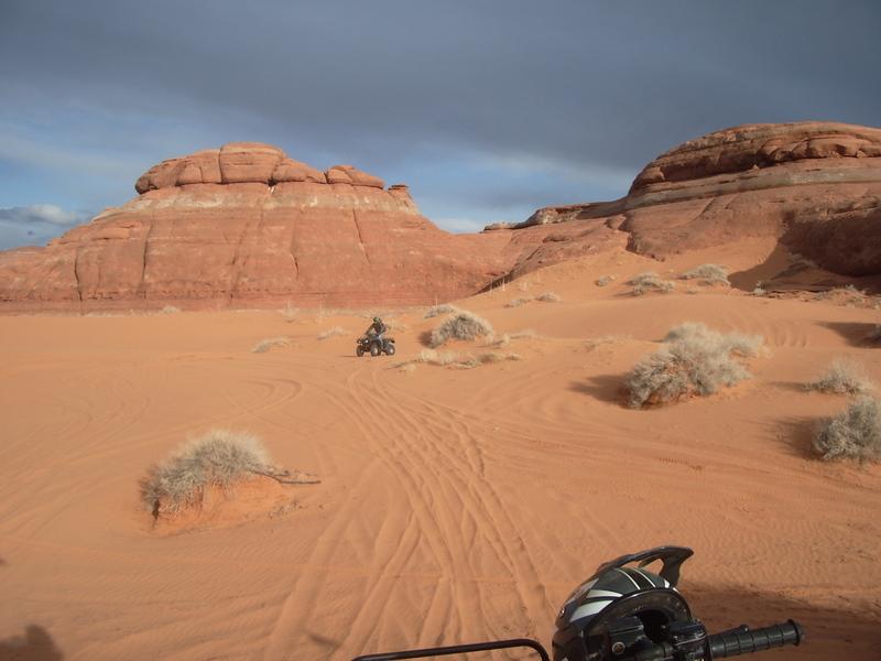 White Wash Sand Dunes Destination Green River